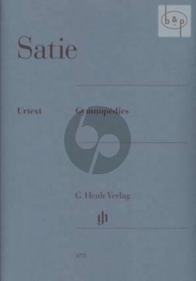 Satie Gymnopedies Piano (edited by Ulrich Kramer)