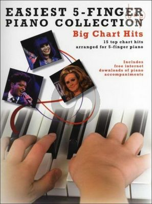 Easiest 5 Finger Piano Collection Big Chart Hits