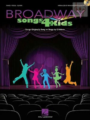 Broadway Songs for Kids (Piano-Vocal-Guitar) (Bk-Cd)