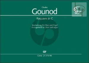 Requiem C-major Op.Posth. (SATB soli-SATB-Organ) (Score) (lat.) (edited by Barbara Grossmann)