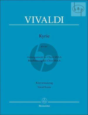 Kyrie RV 587 (SA soli-SSAA[Choir 1 - 2]-Orch.)