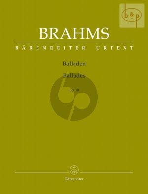 Balladen Op.10 Piano