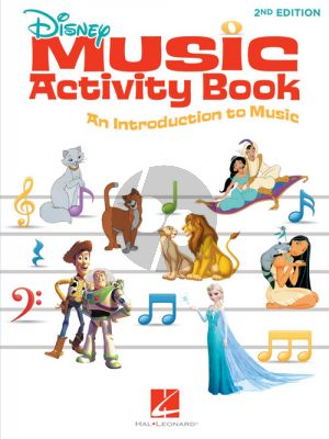 Disney Music Activity Book (all C instr.) (2nd. ed.)