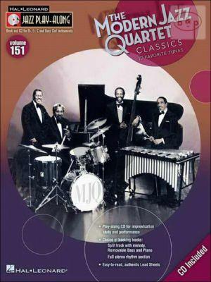 The Modern Jazz Quartet (Jazz Play-Along Series Vol.151)