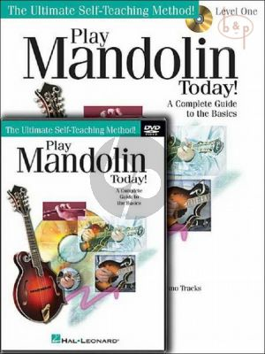 Play Mandolin Today! Beginner's Pack Level 1