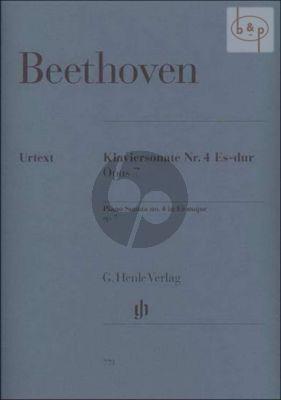 Sonate Es-dur Op.7 Piano Solo