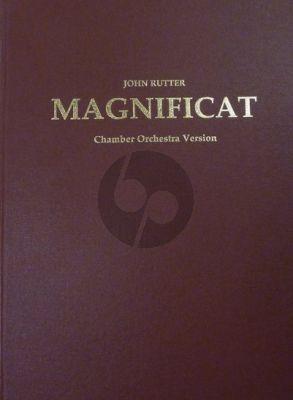 Rutter Magnificat Version for Chamber Ensemble Full score