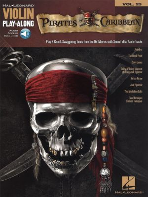 Pirates of the Caribbean (Violin Play-Along Series Vol.23) (Bk-Audio Access Code)