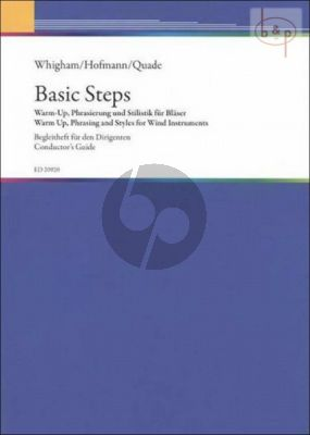 Basic Steps: Warm-Up-Phrasing and Styles for Wind Instruments (Conductor's Guide) (Bk-Cd)