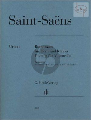 2 Romanzen Op.36 & Op.67 (Version Violonc.)