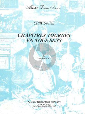 Satie Chapitres Tournes en Tous Sens piano solo