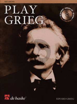 Play Grieg for Descant Recorder (Bk-Cd) (Roland Kernen)