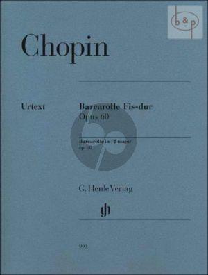Chopin Barcarolle Fis-dur Op.60 Klavier