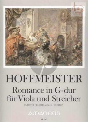 Romance G-major (Viola-Strings)