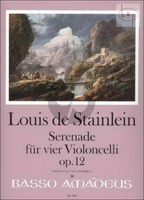 Serenade Op.12 (4 Vc.)