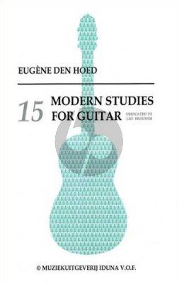 Hoed 15 Modern Studies for Guitar