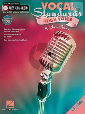 Vocal Standards (Jazz Play-Along Series Vol.129)
