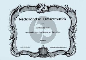 Album Nederlandse Klaviermuziek uit de 18e Eeuw Orgel, Orgel (manualiter), Klavecimbel, Piano, Viool (Verzameld door Jan Doove en Gert Oost)