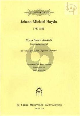 Missa Sancti Amandi (Lambacher Messe) (SATB-Organ-Orch.)