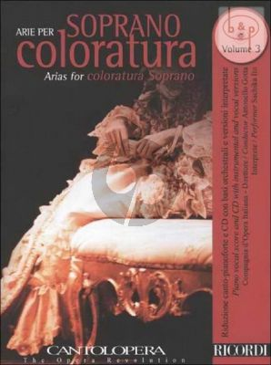 Arias for Coloratura Soprano Vol.3 (Voice-Piano)