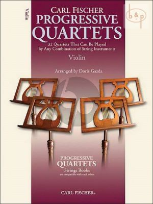 Progressive Quartets (32 Quartets that can be played by any combination of stringinstruments) (Violin)