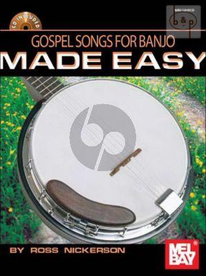 Gospel Songs for Banjo Made Easy