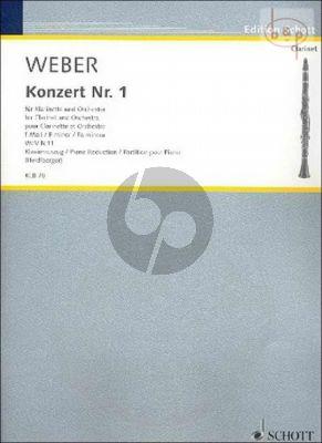 Concerto No.1 f-minor OP.73 (WeW N.11) (Clar.-Orch.)