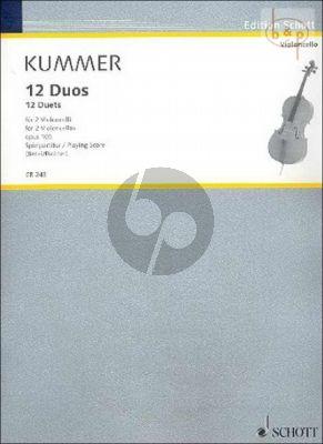 12 Duos Op.105