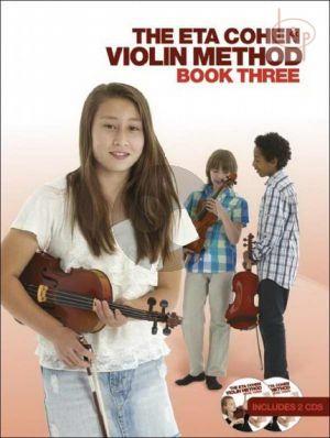 Violin Method Vol.3 Book with 2 Cd's