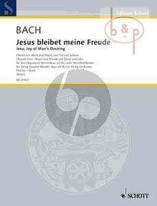 Jesus bleibet meine Freude (Jesu, Joy of Man's Desiring) (from BWV 147) (String Quartet with Double Bass opt.)