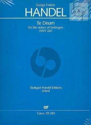 Dettinger Te Deum HWV 283 (Soli-Choir-Orch.) (Vocal Score)