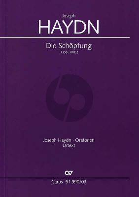 Haydn Die Schopfung Hob.XXI:2 Soli-Choir-Orchestra (Vocal Score) (German text) (Wolfgang Gersthofer)