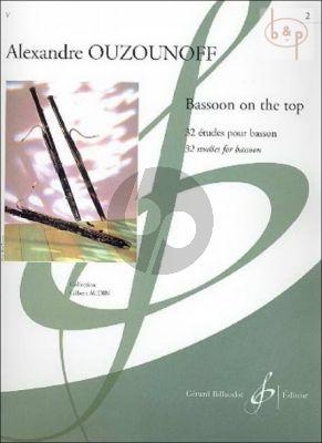 Bassoon on the Top Vol.2 32 Etudes