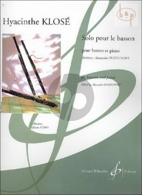 Solo pour le Basson (edited by A.Ouzounoff)