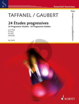 Taffanel-Gaubert 24 Etudes Progressives dans tous les Tons sur les principales difficultes