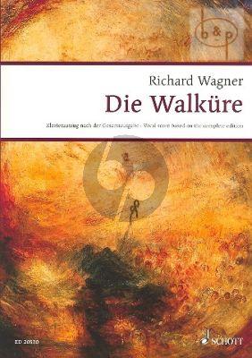 Die Walkure WWV 86B (Vocal Score) (edited by Egon Voss)