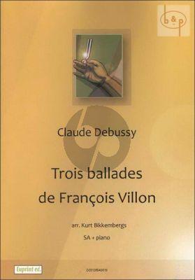 3 Ballades de Francois Villon