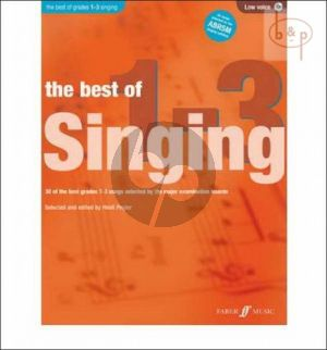 The Best of Singing grades 1 - 3 (Low Voice-Pi.)