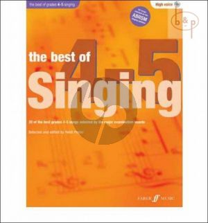The Best of Singing grades 4 - 5 (High Voice-Pi.)