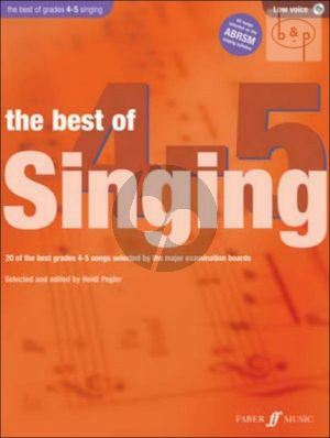 The Best of Singing grades 4 - 5 (Low Voice-Pi.)