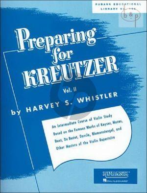 Preparing for Kreutzer Vol.2 for Violin