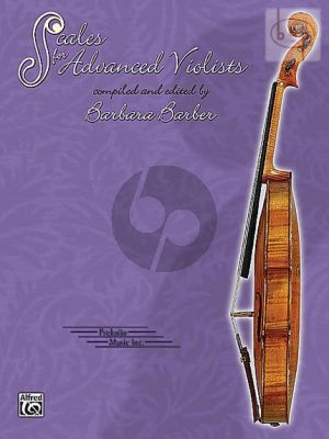 Barber Scales for Advanced Violists (Viola)