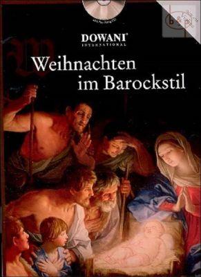 Weihnachten im Barockstil (Violin-Piano) (Bk-Cd) (Dowani CD with Play-Along)