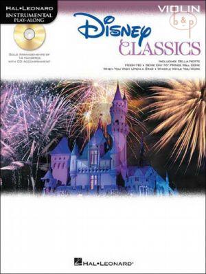 Disney Classics Instrumental Play-Along