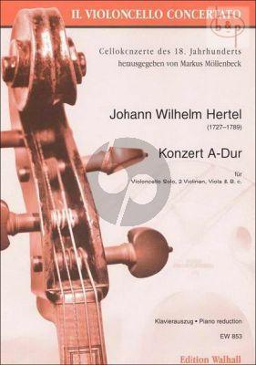 Concerto A-major (Violonc.- 2 Vi.-Va.-Bc)