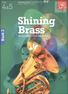 Shining Brass Vol.2 grade 4 - 5 (18 Repertoire Pieces and Studies)