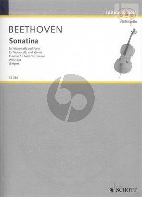 Sonatine c-minor WoO 43a