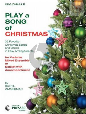 Play a Song of Christmas (35 Favorite Songs for variable mixed ensemble or soloist with accomp.)