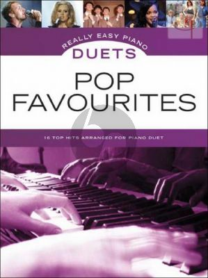 Really Easy Piano Duets Pop Favourites