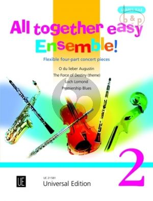 All Together Easy Ensemble! 2 (Flexible 4 Part Concert Pieces)